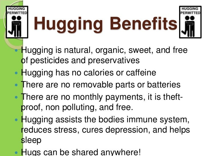why hugs are important