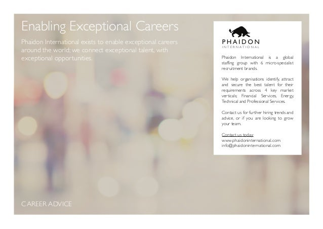 Why you should never accept a counter offer enabling exceptional careers 5 enabling exceptional careers phaidon solutioingenieria Gallery