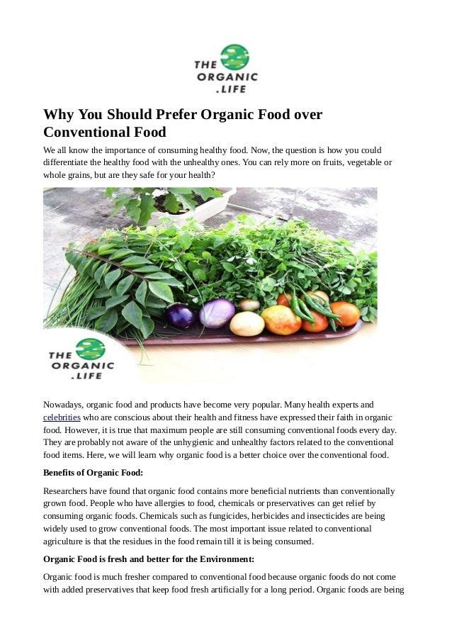 opinion essay organic food Organic Food Essays