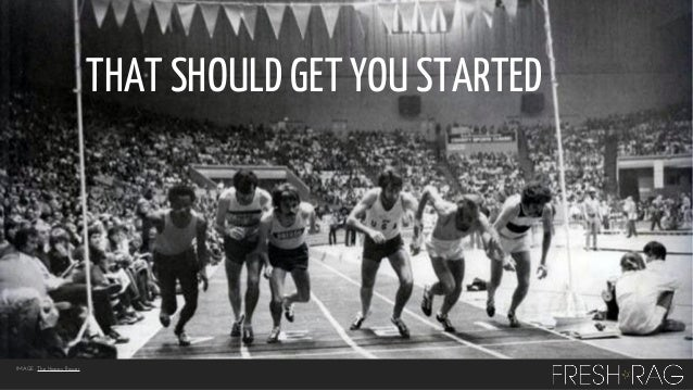 THAT SHOULD GET YOU STARTED  IMAGE: The Happy Rower