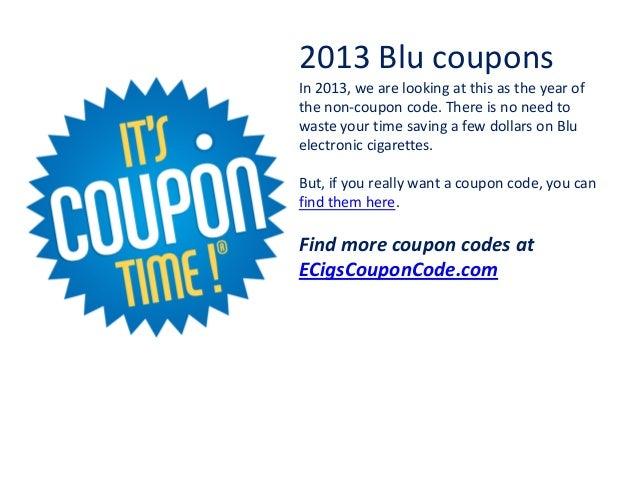 Blu cigs coupon code