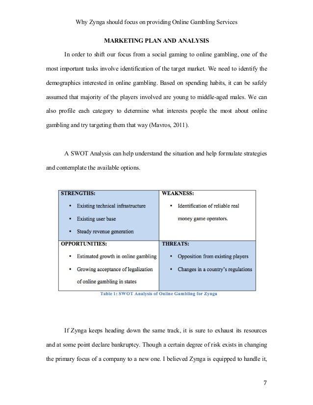 zynga case study swot analysis