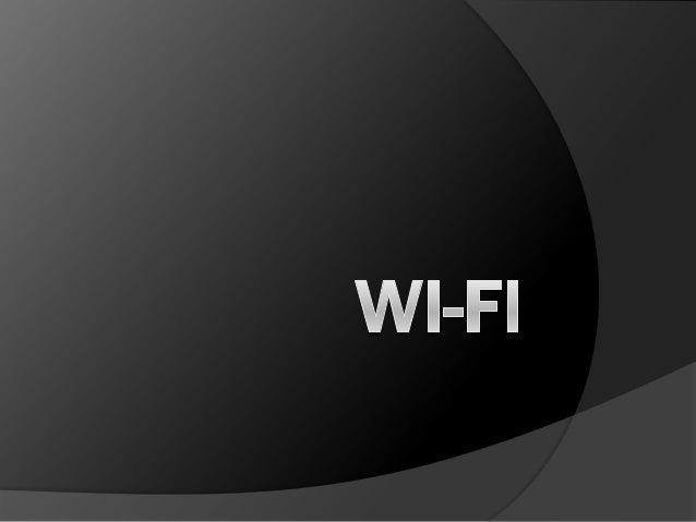 Pengertian.. Wi-Fi (wireless Fidelity) merupakan kependekan dari Wireless Fidelity, yang memiliki pengertian yaitu koneksi...