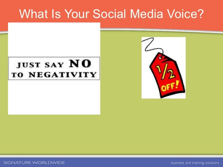 What Is Your Social Media Voice?