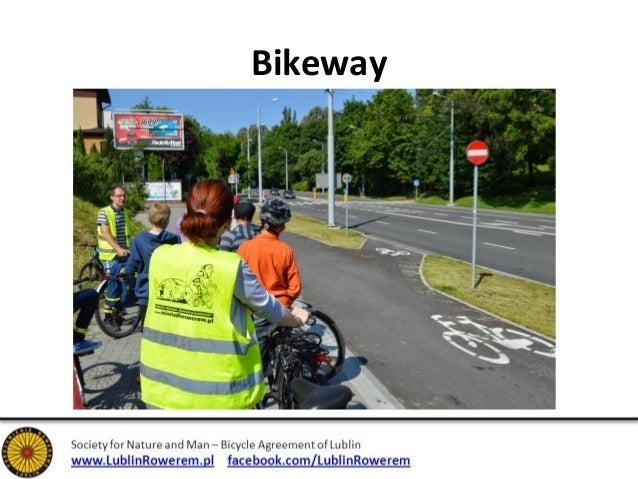 """End of bikeway – """"dark age"""""""