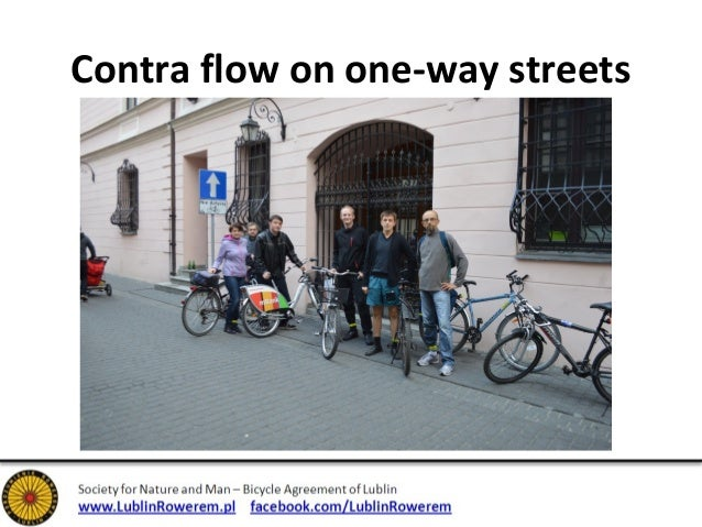 """Virtual """"Contra flow"""" on one-way streets"""