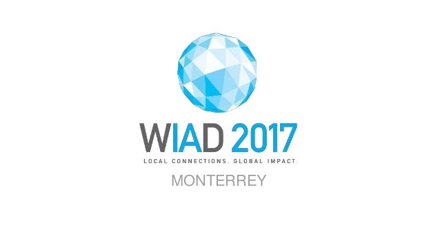 WORLD IA DAY 2017 @CWODTKE MONTERREY