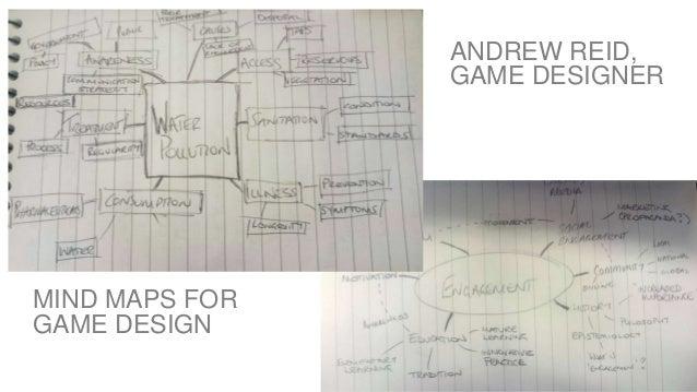WORLD IA DAY 2017 @CWODTKE ANDREW REID, GAME DESIGNER MIND MAPS FOR GAME DESIGN