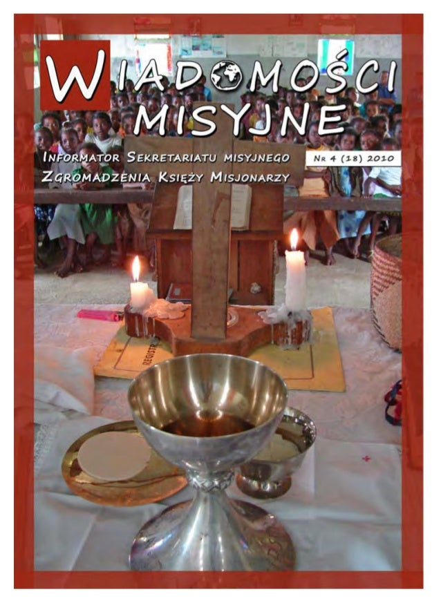 1 Wyrażając uznanie misjonarzom i misjonarkom, Ojciec Święty wzy- wa do otoczenia ich przyjaźnią i wsparciem: Pragnę w szc...
