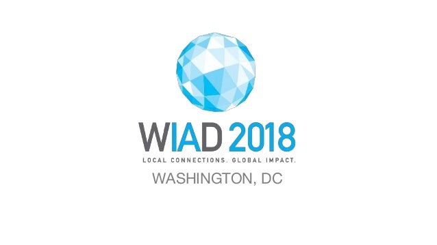 WORLD IA DAY 2018 WASHINGTON, DC