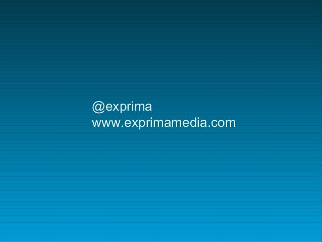 @exprima www.exprimamedia.com