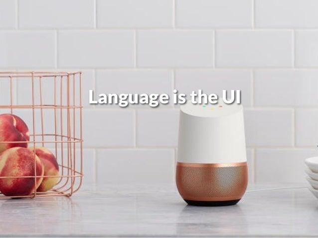 Language is the UI