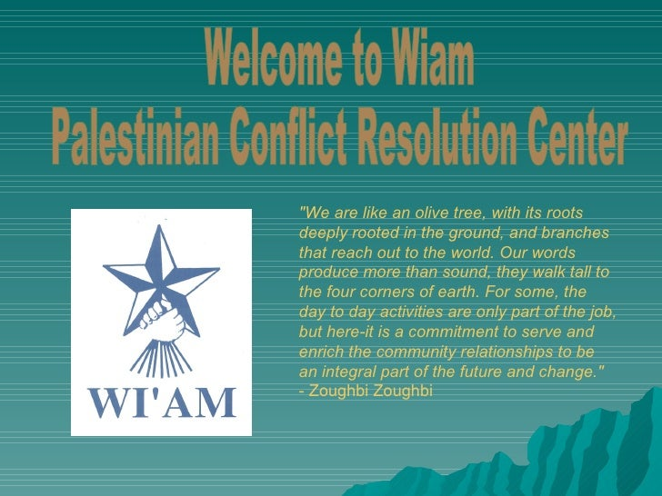 Image result for wi'am center