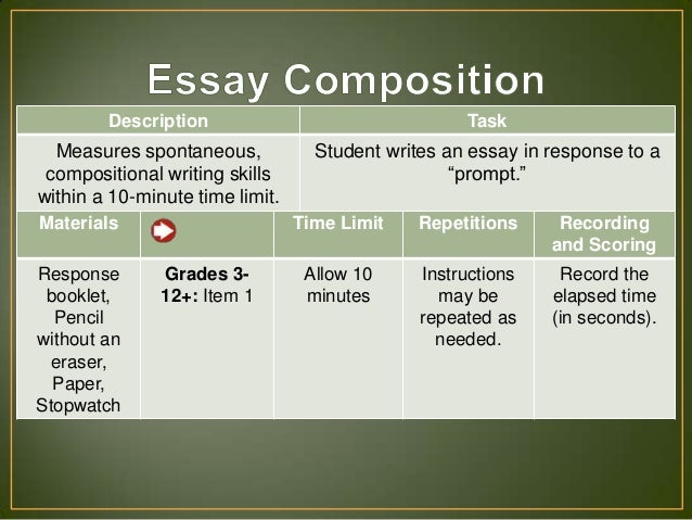Wiat iii essay composition description of god