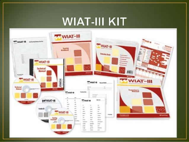 wiat iii indtest report rh slideshare net wiat 3 scoring manual wiat 3 scoring manual