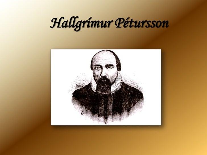 Hallgrímur Pétursson<br />
