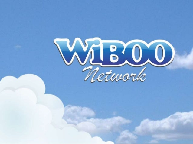 Wiboo Network Apresentacao Completa 2014