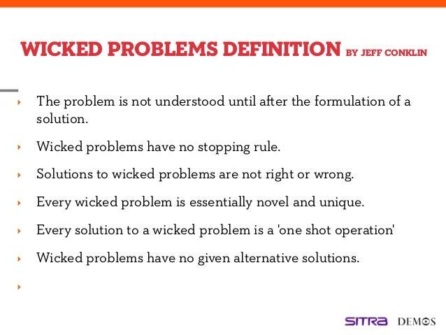 Wicked problem