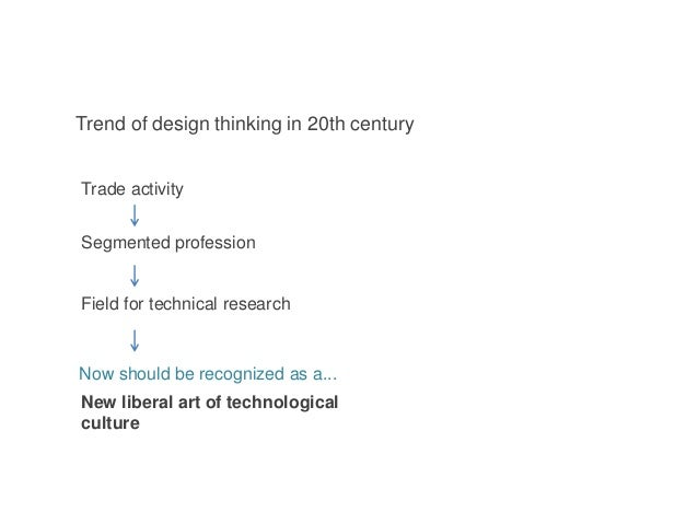 Trade activity Segmented profession Field for technical research Now should be recognized as a... New liberal art of techn...