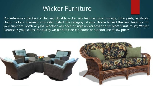 . Wicker Paradise   Perfect Place To Buy Furniture Online