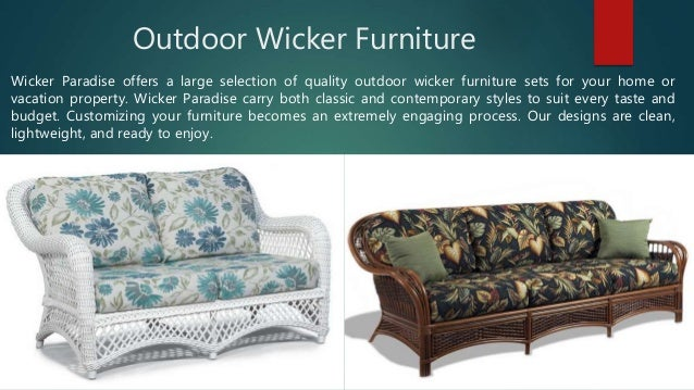 Wicker Paradise Perfect Place To Buy Furniture Online