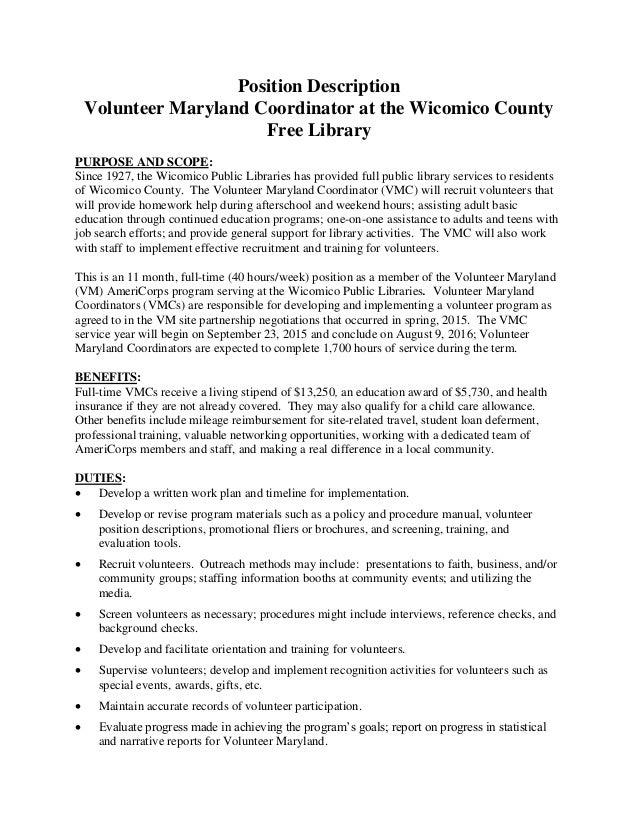 wicomico county free library volunteer maryland