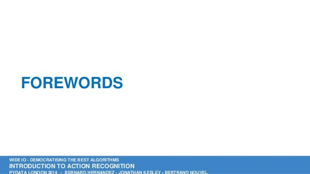 Wide IO Presentation PyData London Slide 3