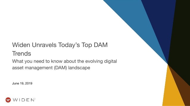 Widen Unravels Today's Top DAM Trends