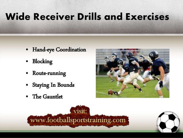 3 Drills to Make Better Wide Receivers | ACTIVE
