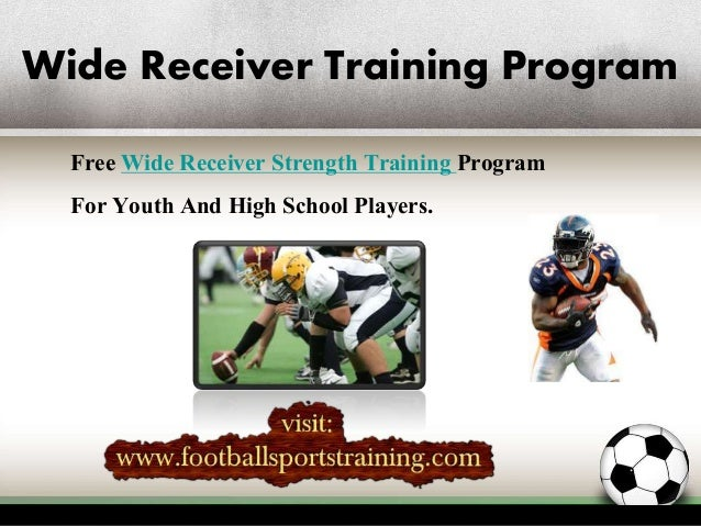 Wide Receivers Weight Training Drills