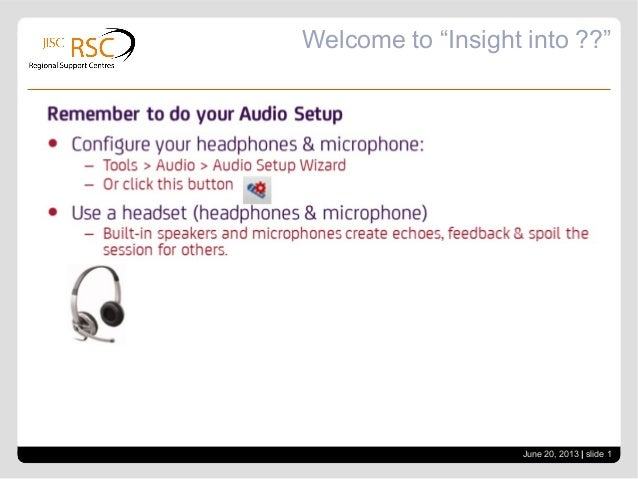 """Welcome to """"Insight into ??""""June 20, 2013 