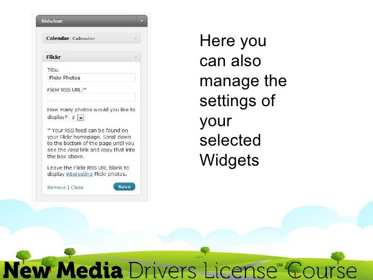 how to add new widgets to wordpress