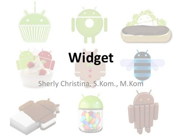 Widget Sherly Christina, S.Kom., M.Kom