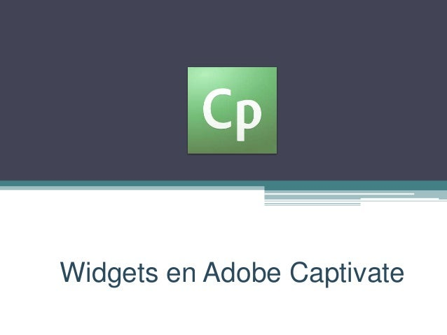 Widgets en Adobe Captivate