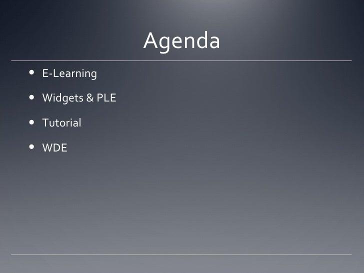 Widget Tutorial Slide 2