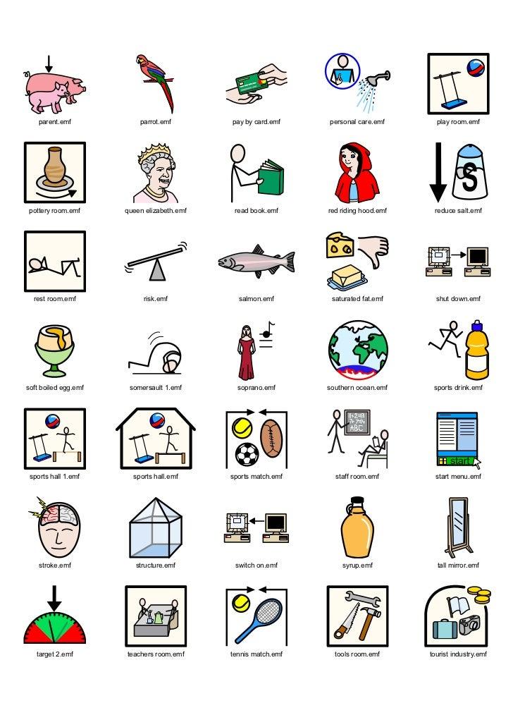 Widgit Symbol Dictionarywinter2008