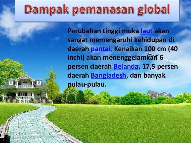 Contoh Pp Pemanasan Global