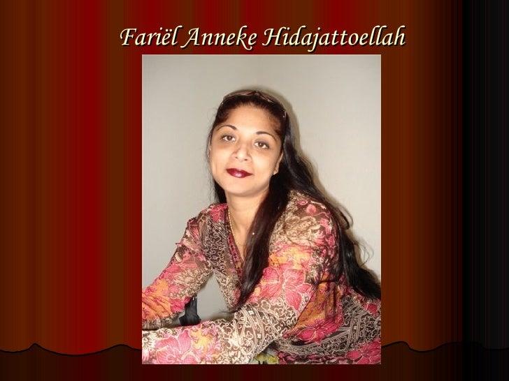 Fariël Anneke Hidajattoellah