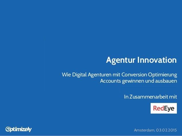 Wie Agenturen mit Conversion Optimierung Accounts gewinnen und ausbauen