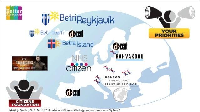 Wie krijgt de controle over onze data - Inholland Diemen - 2017 11-23