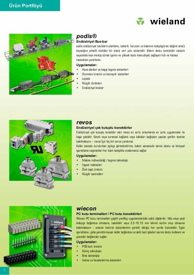 2 Ürün Portföyü podis® Endüstriyel Bus-bar podis endüstriyel tesislerin planlama, tedarik, kurulum ve bakımını kolaylaştır...