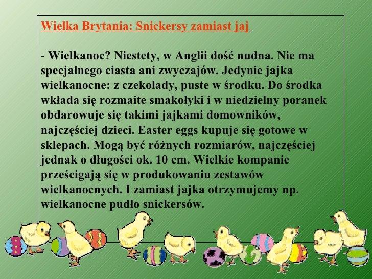 Wielkanoc w Polsce i na świecie
