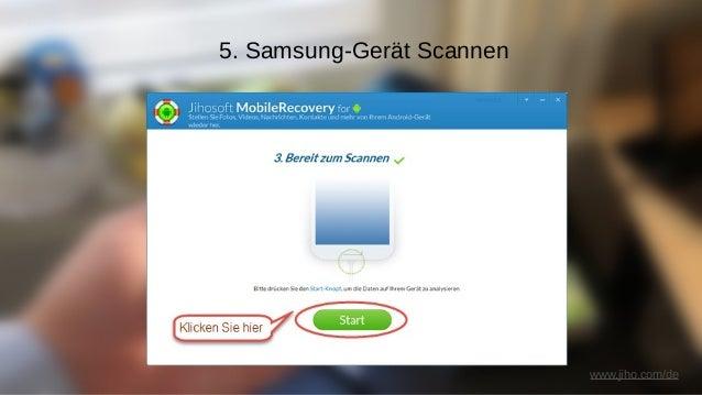 www.jiho.com/de 6. Verlorene Kontakte, die durch das Programm gefunden wurden