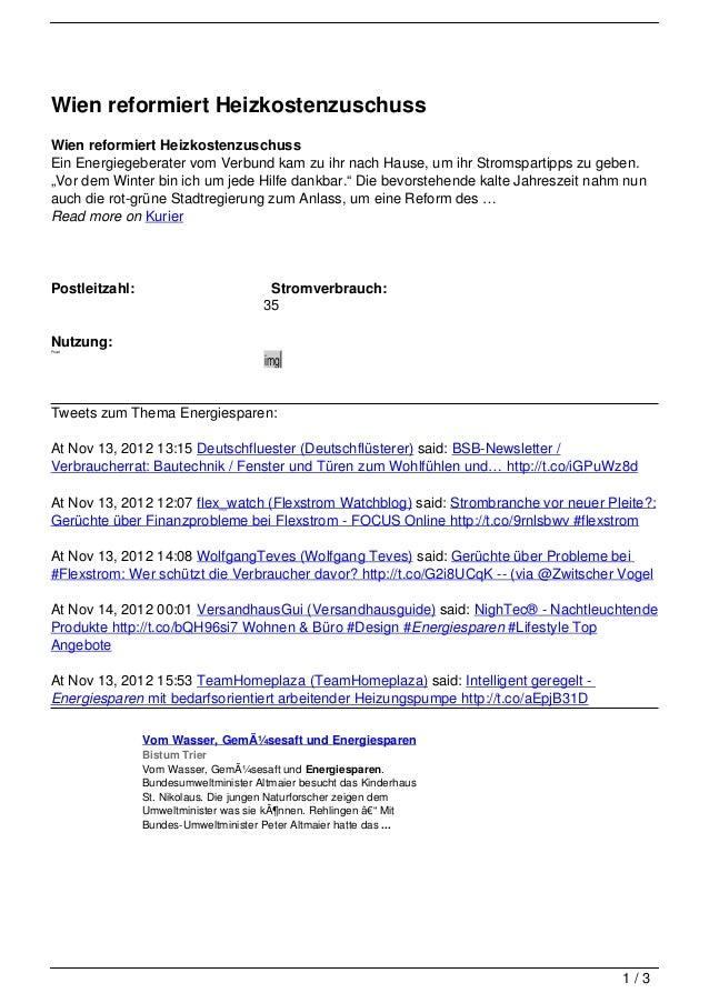 Wien reformiert HeizkostenzuschussWien reformiert HeizkostenzuschussEin Energiegeberater vom Verbund kam zu ihr nach Hause...