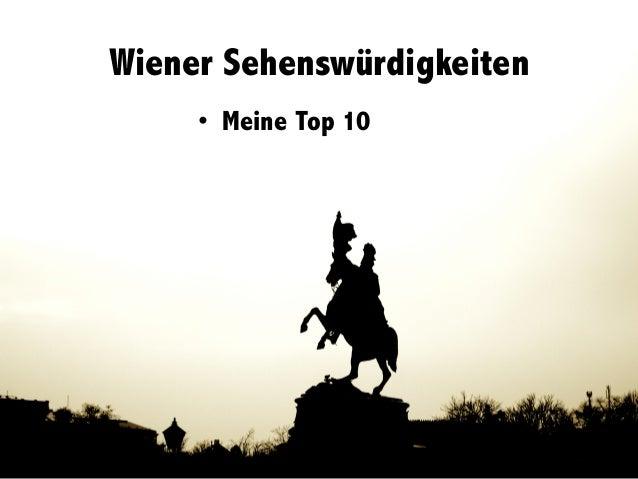 Wiener Sehenswürdigkeiten • Meine Top 10