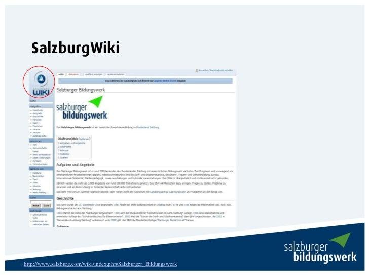SalzburgWikihttp://www.salzburg.com/wiki/index.php/Salzburger_Bildungswerk