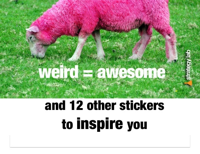 and 12 other stickers to inspire you
