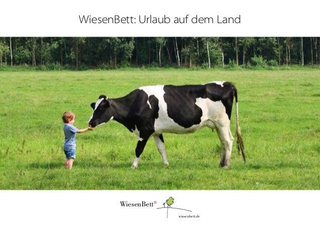 WiesenBett: Urlaub auf dem Land  WiesenBett® wiesenbett.de