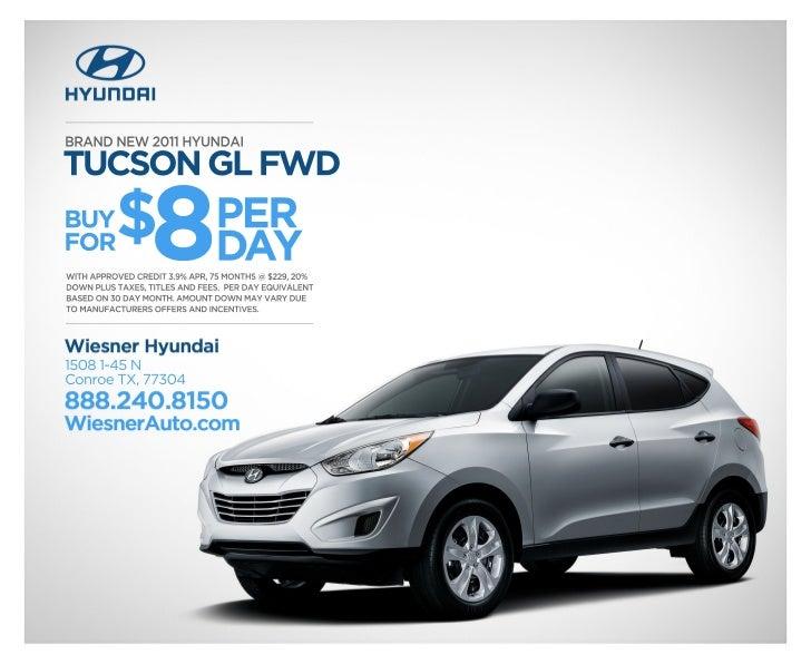 Hyundai Tuscon Houston Area Hyundai Dealer Wiesner