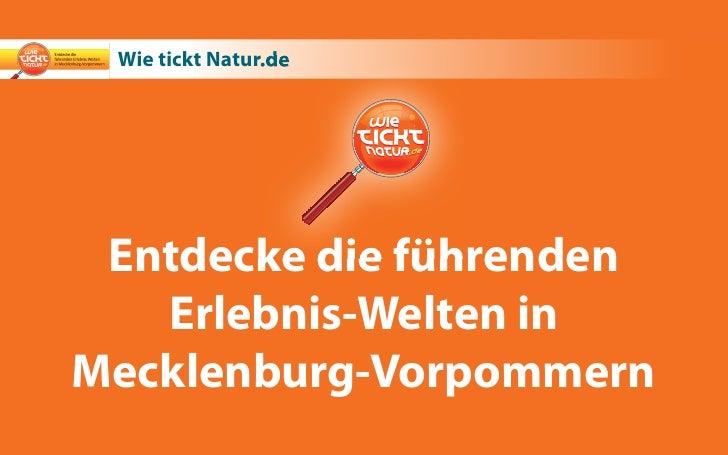 Erlebniswelten Mecklenburg-Vorpommern